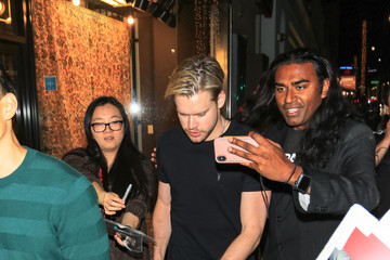 Chord Overstreet Chord Overstreet Outside The Laemmle Music Hall In Beverly Hills