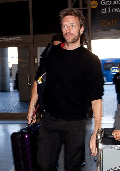 Chris Martin - Chris Martin at LAX