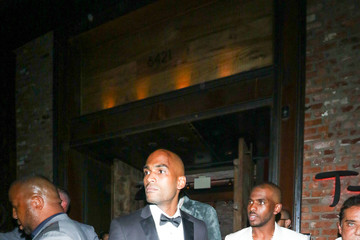 Chris Paul Chris Paul Outside Kevin Hart's Birthday Party At TAO In Hollywood