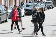Chris Pratt and family out and about..