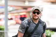 Chris Pratt Arrives at LAX