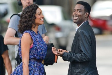 Chris Rock Rosario Dawson The Untitled Chris Rock Project Films in NYC