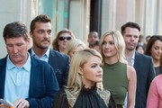 Chris Soules, Witney Carson, and Whitney Bischoff in Hollywood