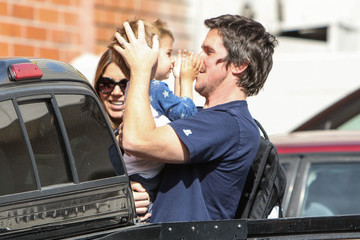 Christian Bale Christian Bale Has a Family Lunch