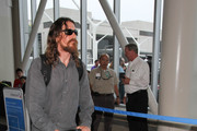 Christian Bale and Son Are Seen at LAX