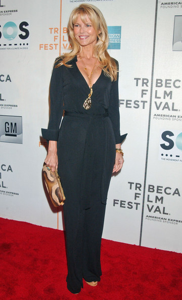 Christie brinkley the tribeca film festival 2007 opening night