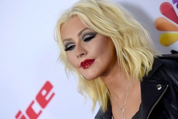 Christina Aguilera 'The Voice' Season 8 Red Carpet