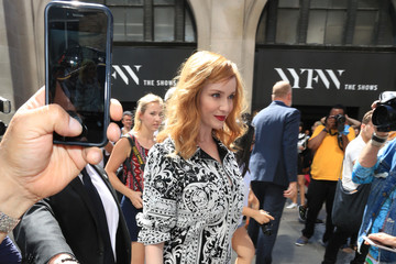 Christina Hendricks Christina Hendricks Is Seen Out in NYC