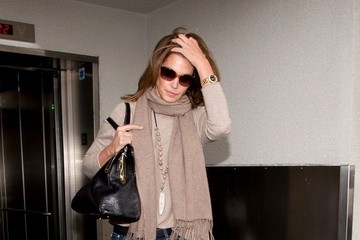Cindy Crawford Cindy Crawford at LAX