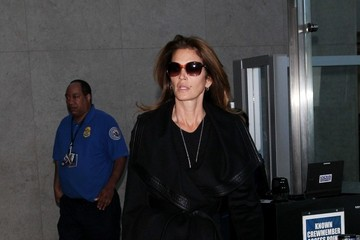 Cindy Crawford Cindy Crawford Arrives at LAX
