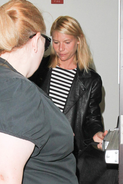 Claire Danes Is Seen at LAX []