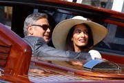 George Clooney and Amal Alamuddin Go Boating
