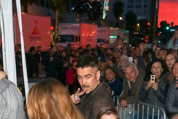 Colin Farrell Colin Farrell outside the 'Dumbo' Premiere at Dolby Theatre