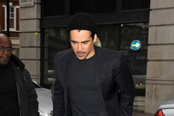 Colin Farrell Colin Farrell Arrives at the BBC Studios