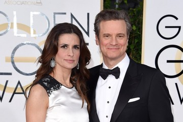 Colin Firth Arrivals at the Golden Globe Awards