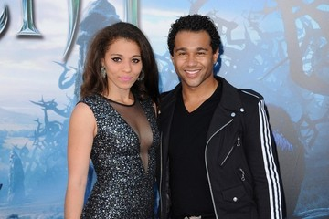 Corbin Bleu 'Maleficent' Premieres in Hollywood