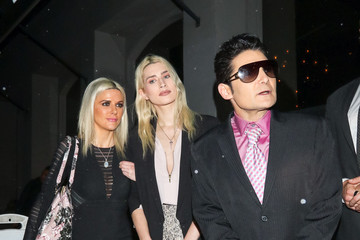 Corey Feldman Corey Feldman and Courtney Anne Mitchell outside Chateau Marmount