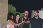 Courteney Cox And Johnny McDaid Dine At Nobu