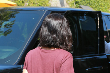 Courteney Cox Courteney Cox Meets with a Friend in Beverly Hills