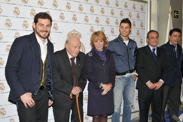 Alfredo di Stefano Cristiano Ronaldo on His Birthday