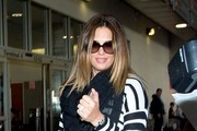 Daisy Fuentes Arrives at LAX