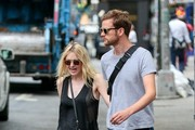Dakota Fanning and Jamie Strachan