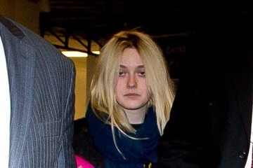 Dakota Fanning Dakota Fanning Arrives at LAX