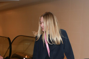 Dakota Fanning Dakota Fanning Is Seen at LAX