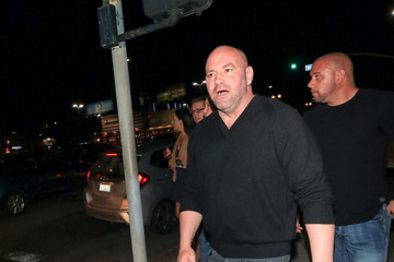 Dana White Dana White Outside Andre The Giant Premiere After Party At Lure Nightclub