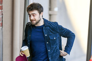 Daniel Radcliffe is seen in Los Angeles, California on February 6, 2019.