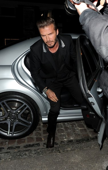 b21c6f73c5 David Beckham Photos Photos - David Beckham's H&M Launch Party - Zimbio
