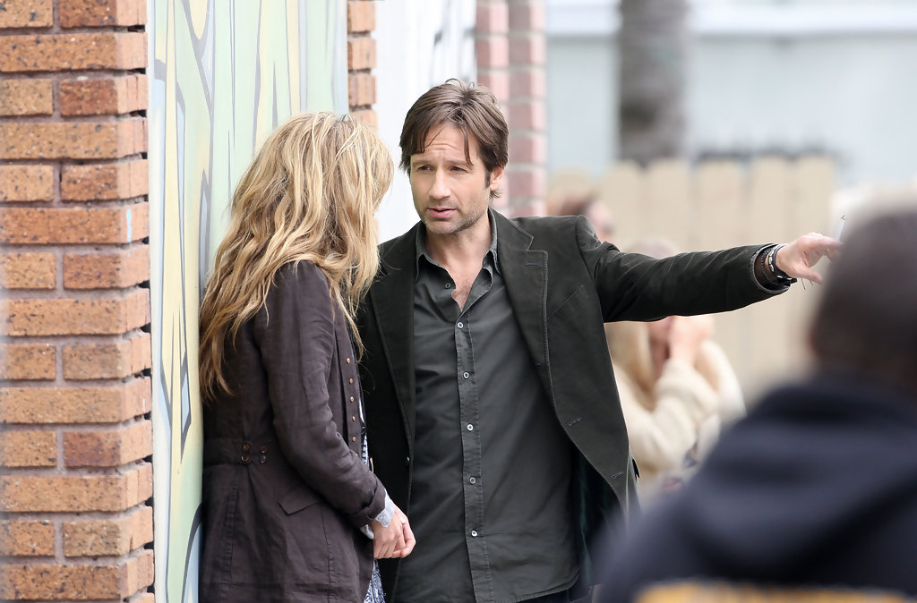 David Duchovny and Nat...