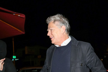 David Foster David Foster Outside Craig's Restaurant in West Hollywood