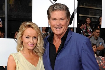 David Hasselhoff Arrivals at the MTV Movie Awards