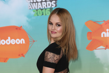 Debby Ryan Celebrities Attend Nickelodeon's 2016 Kids' Choice Awards at The Forum