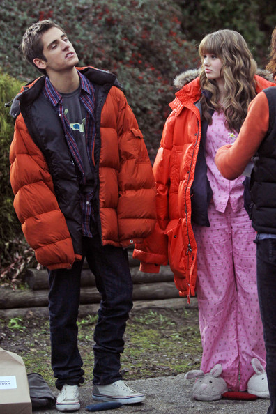 "Jean-Luc Bilodeau ""The Suite Life on Deck"" star Debby Ryan and ""Kyle XY"" star Jean-Luc Bilodeau film a scene for their upcoming Disney Channel Original Movie, ""16 Wishes."" ."