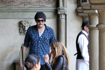 Jack Huston Cat Deeley and Jack Huston at Chateau Marmont