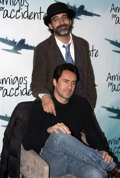 Photo of Demián Bichir & his friend celebrity   Bruno Bichir  -