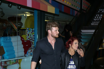 Derek Theler Celebrity Sightings at 'Dancing With Stars' After Party