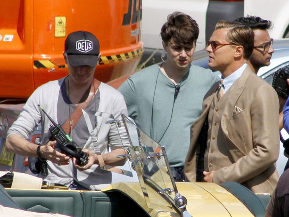 Leonardo+DiCaprio in Leonardo DiCaprio on Set for 'Gatsby'