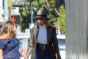 Diane Keaton out and about