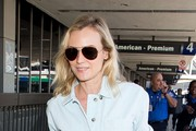 Diane Kruger Arrives at LAX