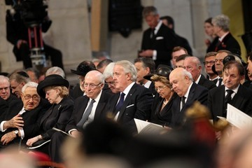 Dick Cheney Ceremonial Funeral Service for Margaret Thatcher 20