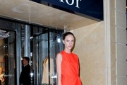 Attendees of the grand opening of Christian Dior flagship boutique in Sydney.