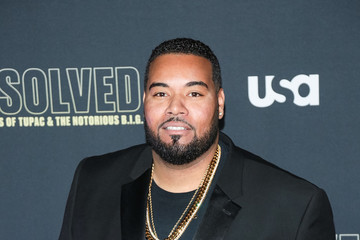 Dominic Santana Premiere Of USA Network's 'Unsolved: The Murders Of Tupac And The Notorious B.I.G.'