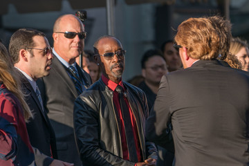 Don Cheadle Stars Greet Fans at the Premiere of 'Captain America: Civil War'