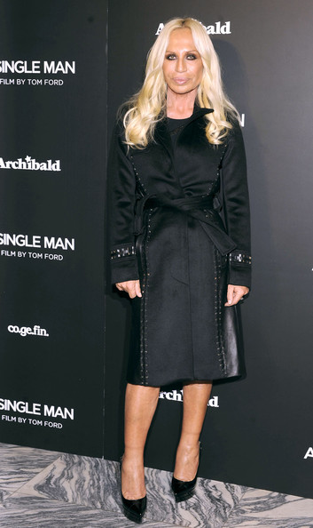 Donatella Versace Photos Photos A Single Man Photocall