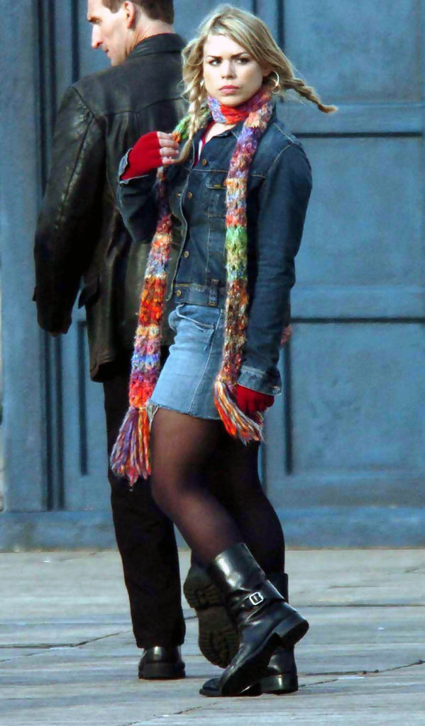 Billie Piper Photos Photos Dr Who Filming Zimbio
