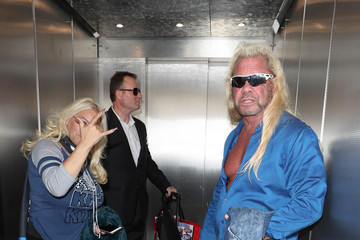 Duane Chapman Dog the Bounty Hunter and Beth Chapman Are Seen at LAX