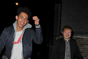 Ed Sheeran Celebs Enjoy a Late Night Out
